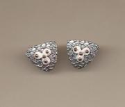 Pebble Texture Oxi-shapes Earrings