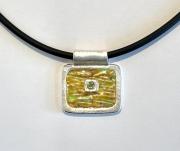 after-van-gogh  wheat field enamel pendant