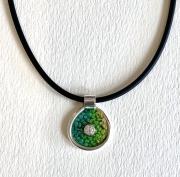 sea-walk  enamel pendant